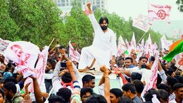 Wait…Where is Jana Sena's Pawan Kalyan?