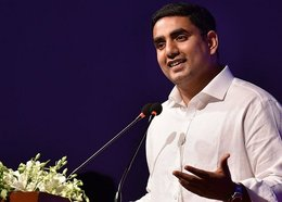 Nara Lokesh slams ruling YSRCP's first year in office