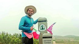 Records Galore: Andhra Man finishes a gruelling 4000-km Pacific Crest Trail in US