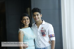 LOVERS DAY movie Priya Prakash Varrier and Roshan Stills