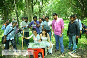 Seetha movie working stills